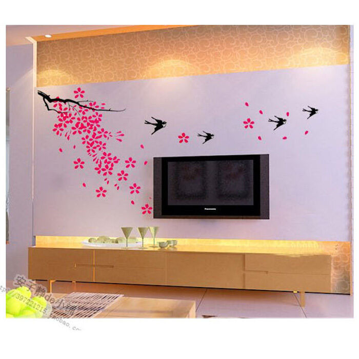Diy Spring Wall Decor : Wall decor art vinyl diy home room decal sticker spring