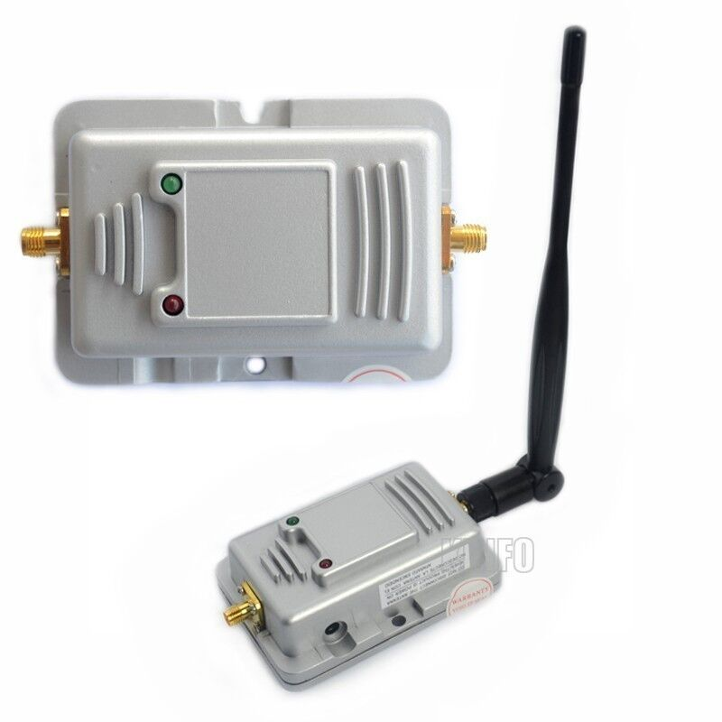 2 4 ghz 2w 2000mw router wifi wireless lan signal booster amplifier ebay. Black Bedroom Furniture Sets. Home Design Ideas
