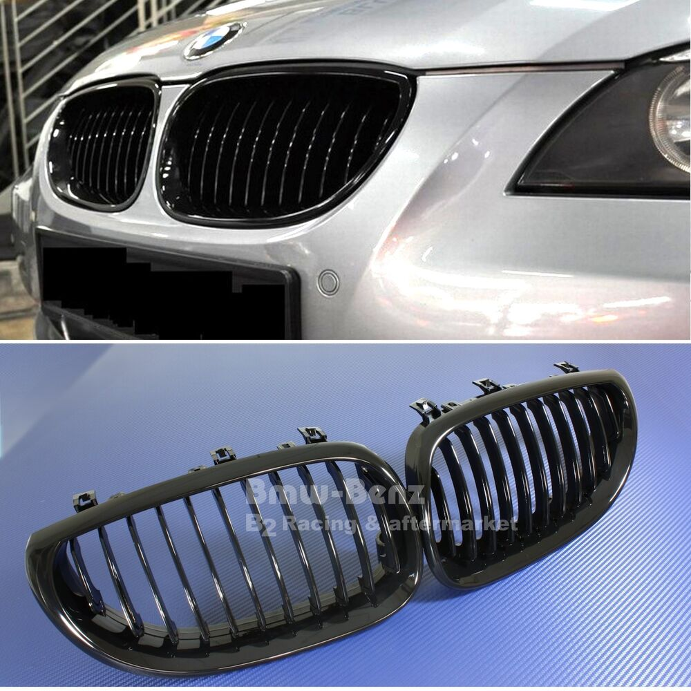 Bmw Grills: 2004-2010 BMW E60 E61 5 Series M5 Front Grille / Front