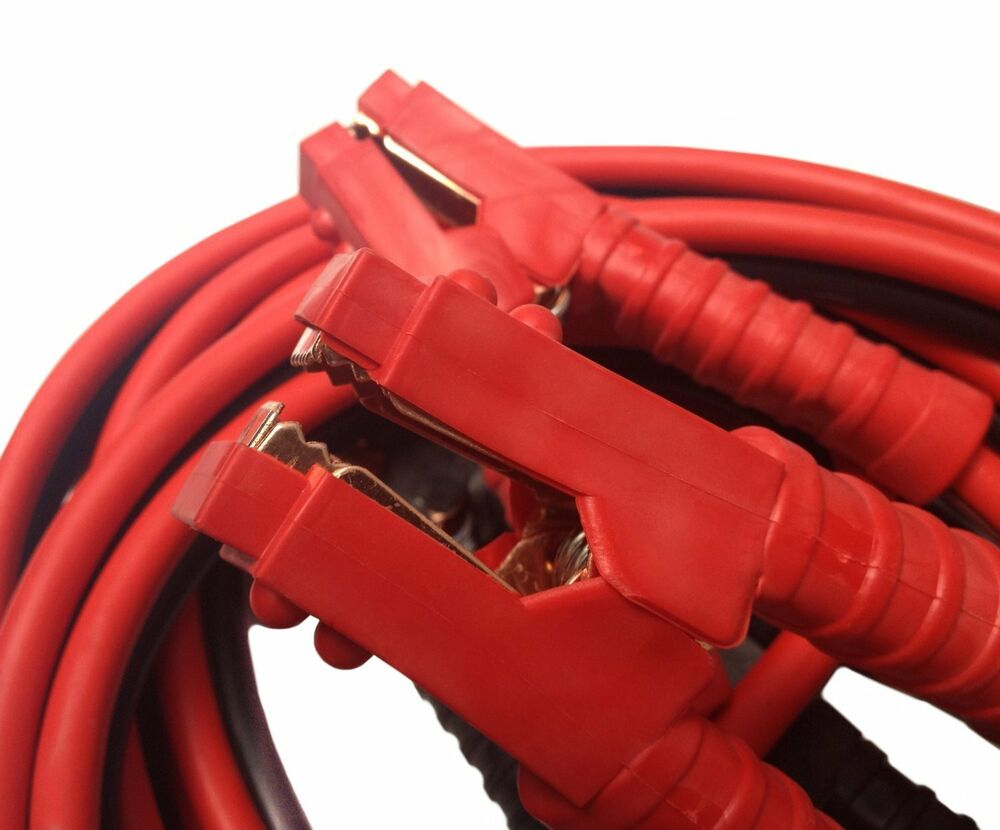 Super Jumper Cables : Heavy duty industrial jumper booster cables amp