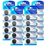 25Pcs CR2032 2032 L14 3V Lithium Button Coin Cell Battery For Watches PKCELL