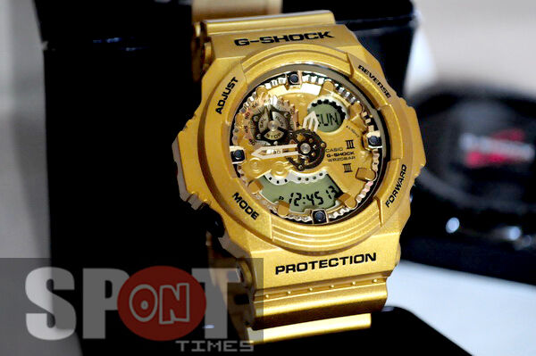 Casio G-Shock Gold Analog Digital Resin 200M Men s Watch GA-300GD-9A  4971850077329  ae1833423d8e