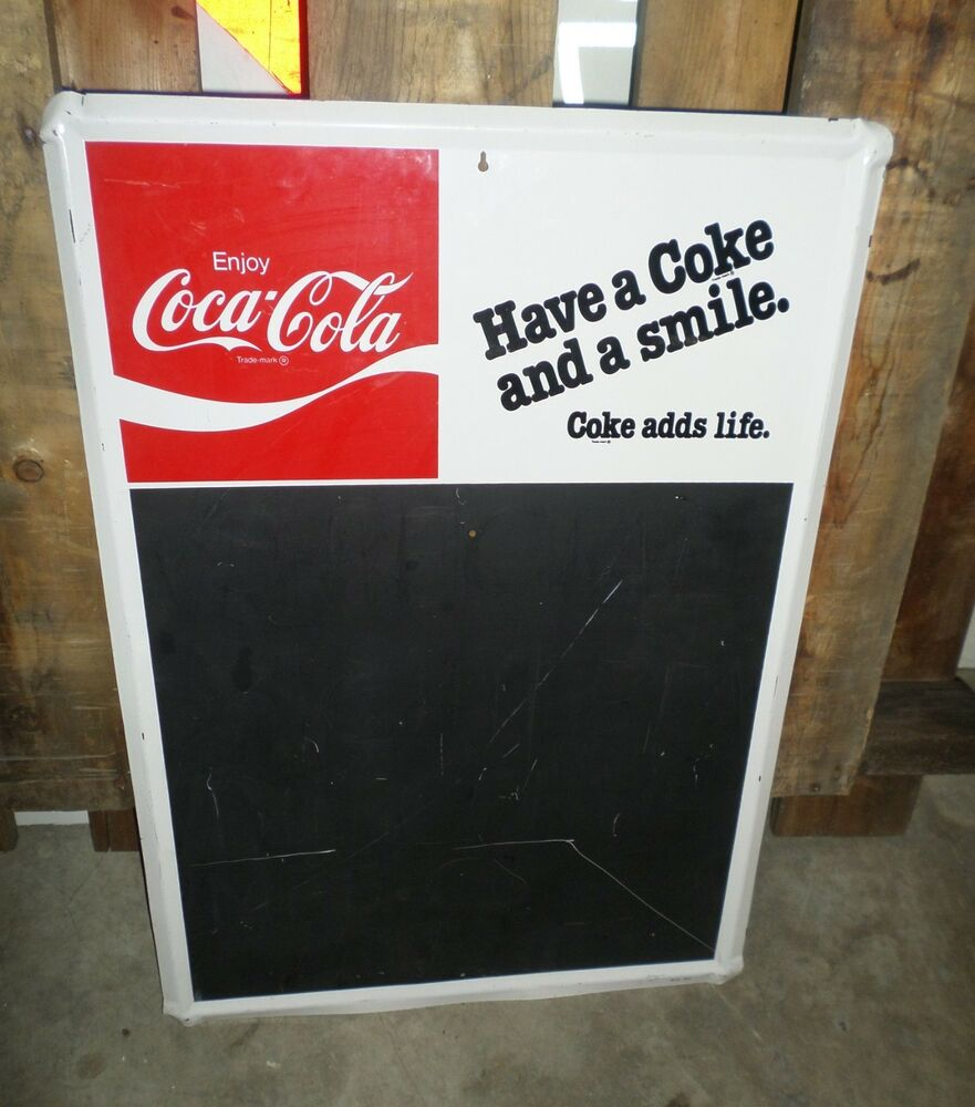 how to clean a chalkboard with coke