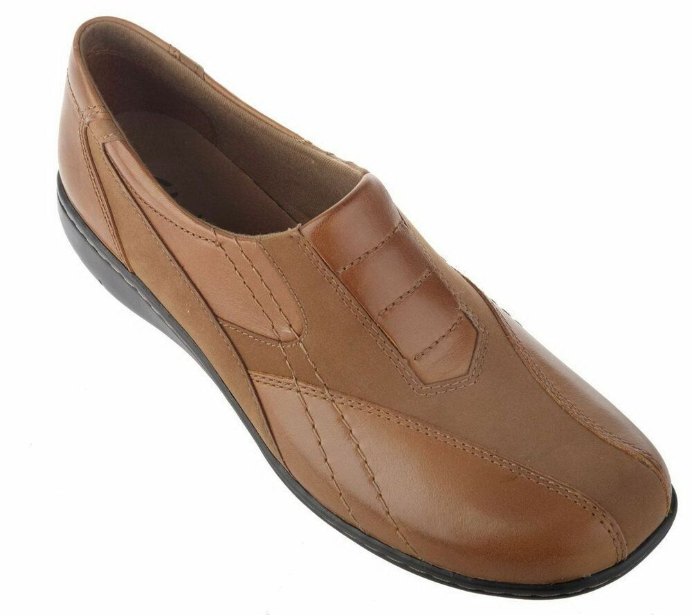 Womens Clarks Brown Dress Shoes