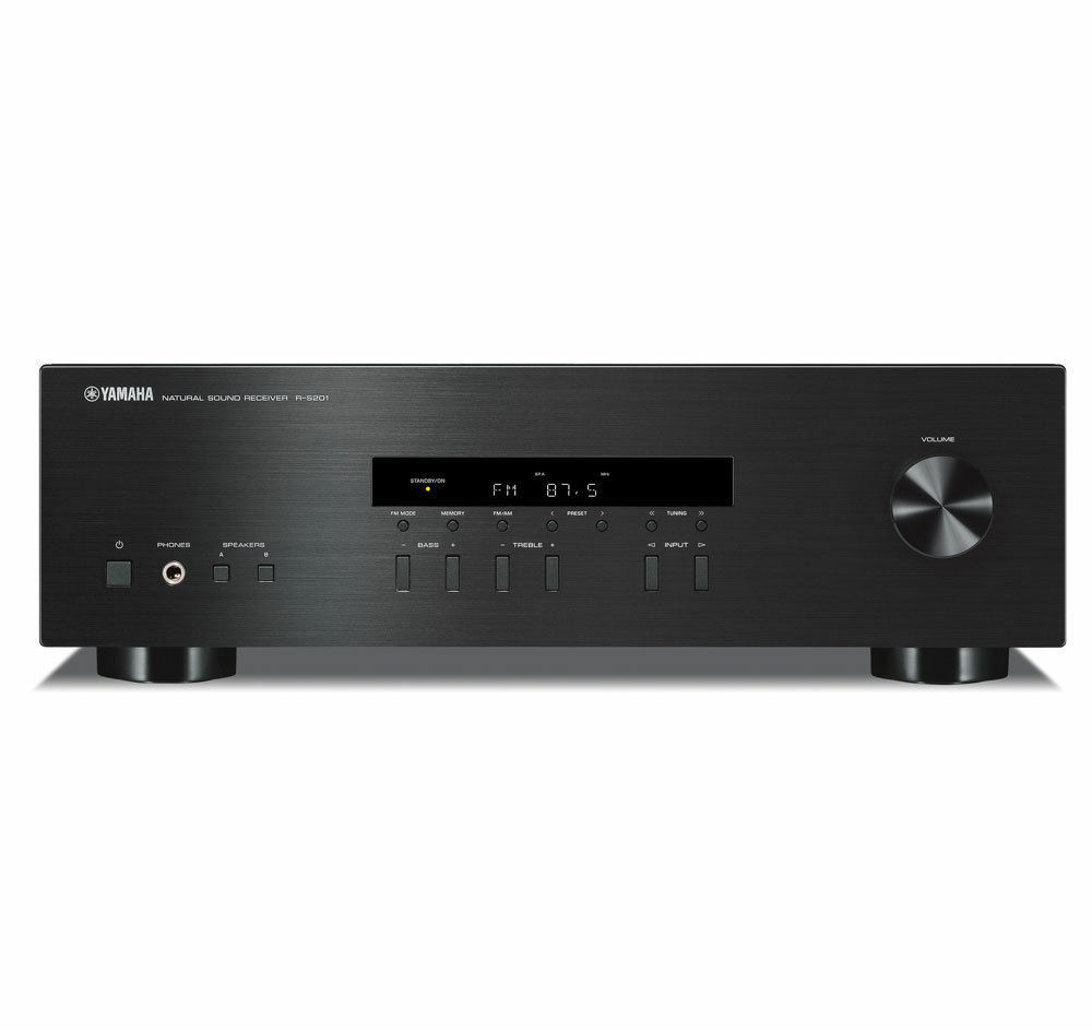 yamaha r s201 200 w home audio theater stereo receiver 2