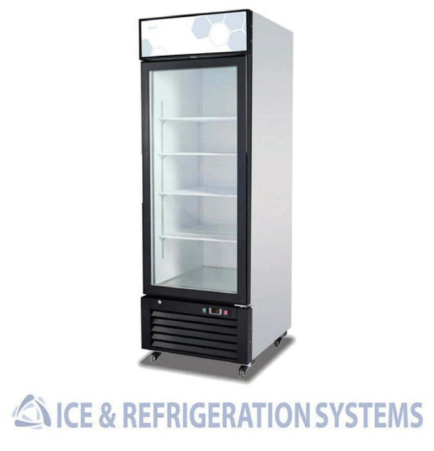 Migali 23c f single glass door refrigerator merchandiser for 1 door chiller