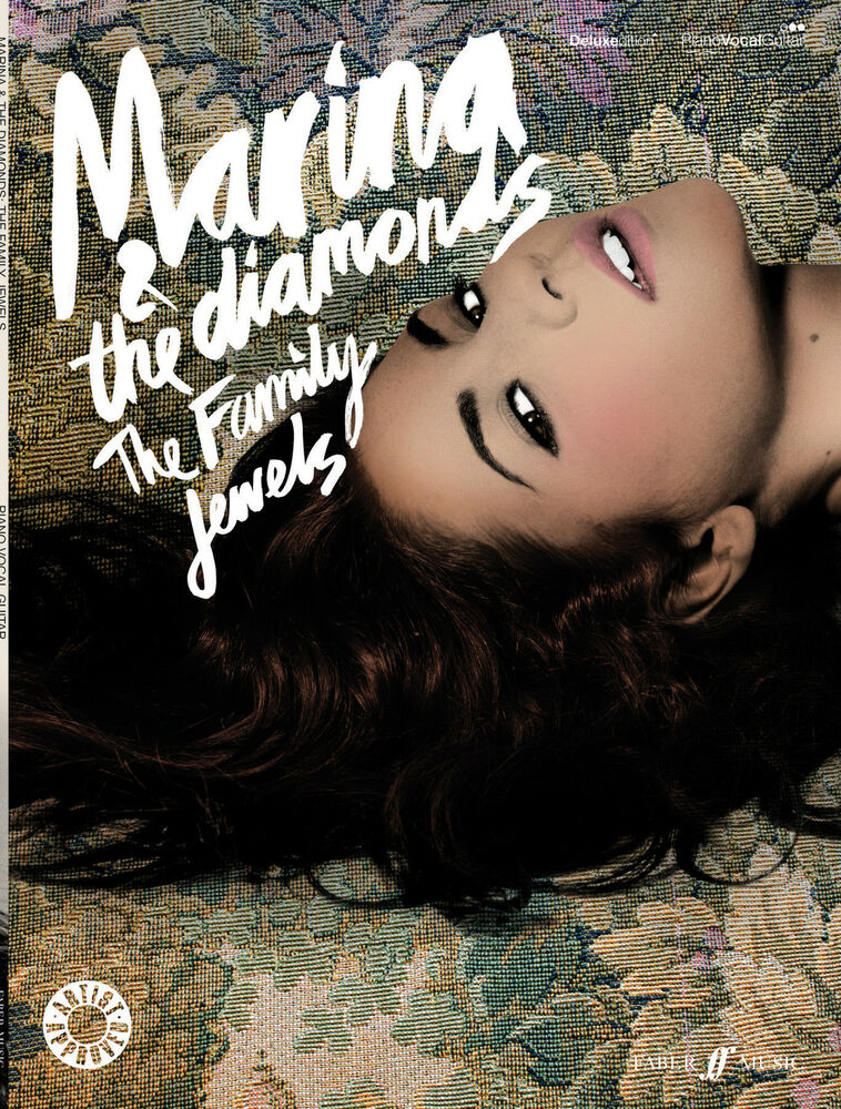 Family Jewels Marina And The Diamonds Pop Piano Voice Guitar Faber