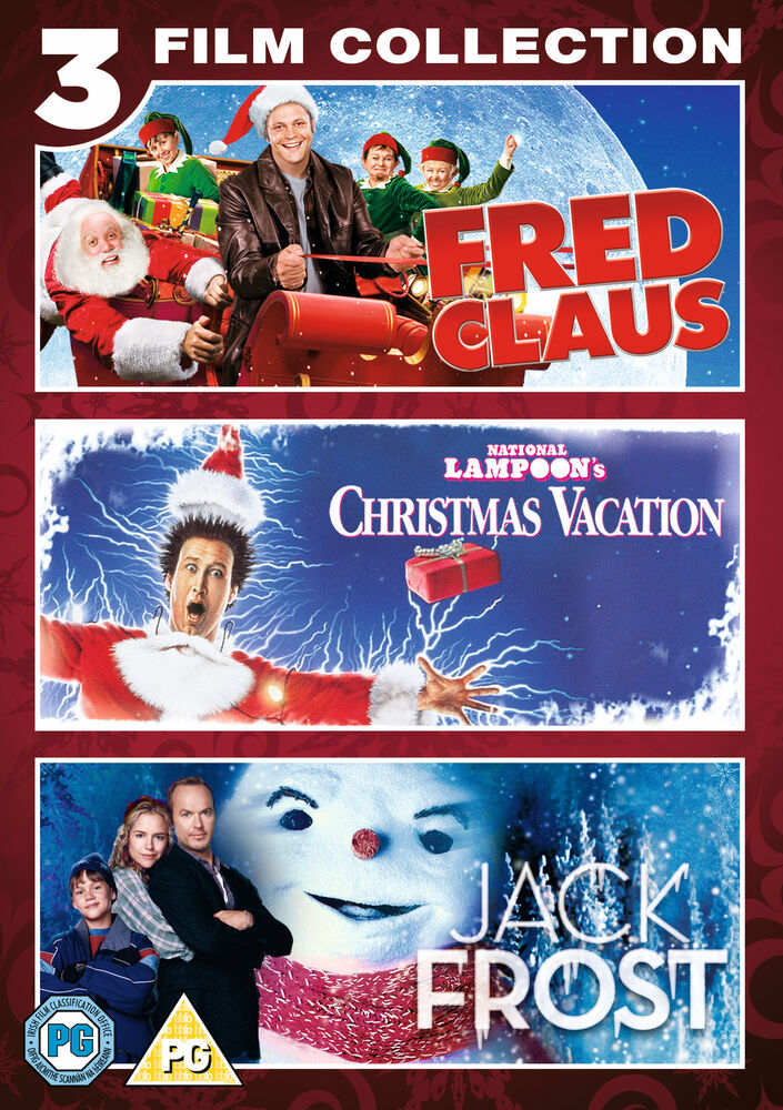 Christmas 3 Pack (Fred Claus, National Lampoons Xmas
