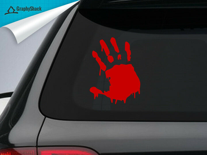 Zombie Hand Car Decal Sticker Window Decal Sticker Vinyl