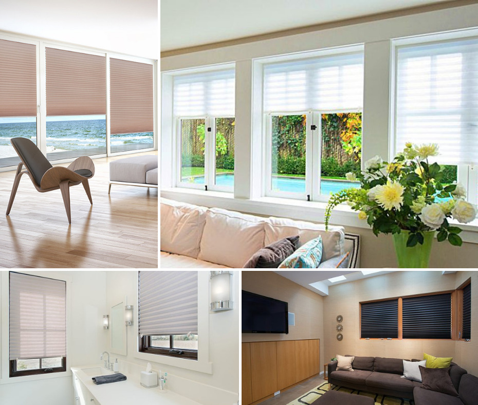 temporary pleated blinds paper window blinds instant privacy or blackout ebay. Black Bedroom Furniture Sets. Home Design Ideas