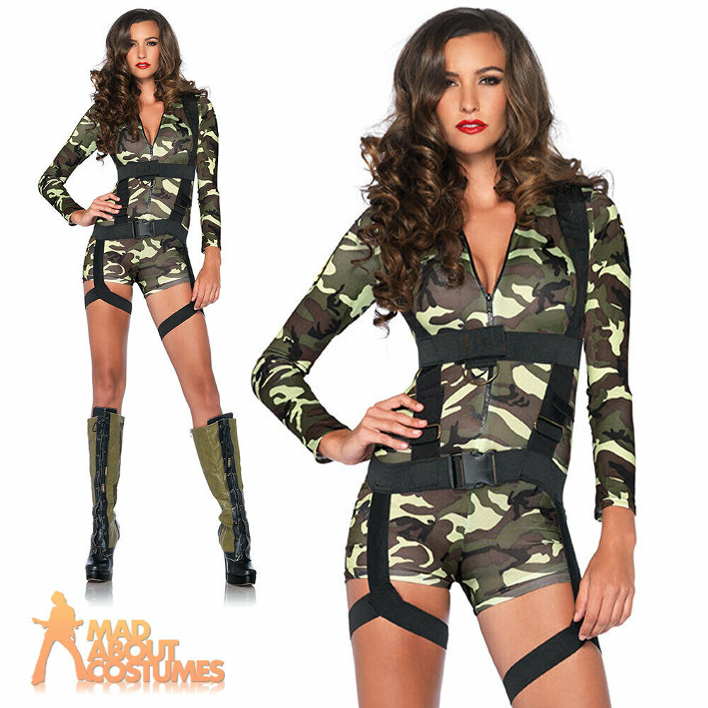 Army Girl Costume For Women
