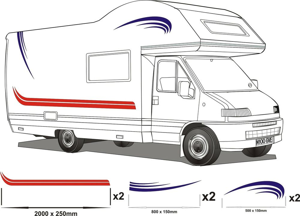 Book of motorhome graphics stickers in germany by emma for Decals for rv mural