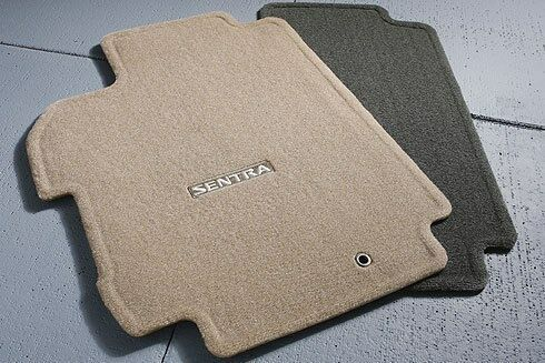 Nissan Sentra 2012 Accessories >> Nissan Sentra Factory OEM Carpet Floor Mats 2008-2012 Gray | eBay