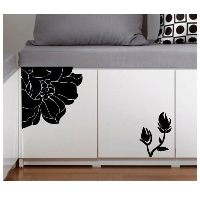 Wall sticker home decor wardrobe door decal vinyl art for Door mural stickers