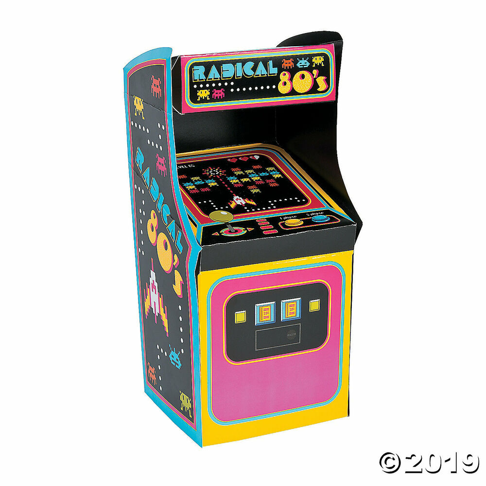 Totally 80s party decoration arcade video game atari space for Decoration 80 s