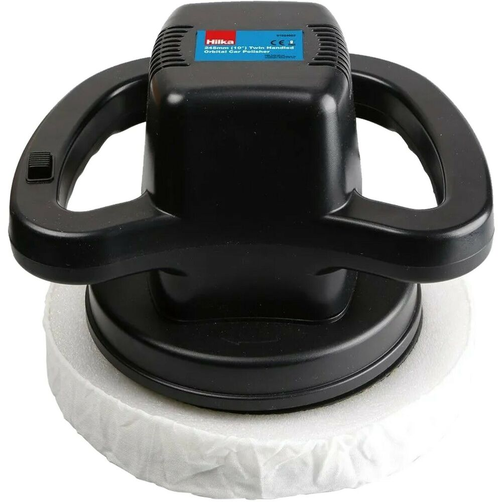 Electric Car Buffing Polisher With 2 Pads 10 110w Body
