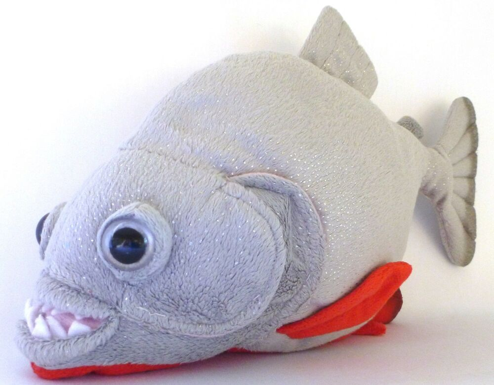 Plush Stuffed Animal Toys : Quot amazon red bellied piranha stuffed animal plush toy ebay