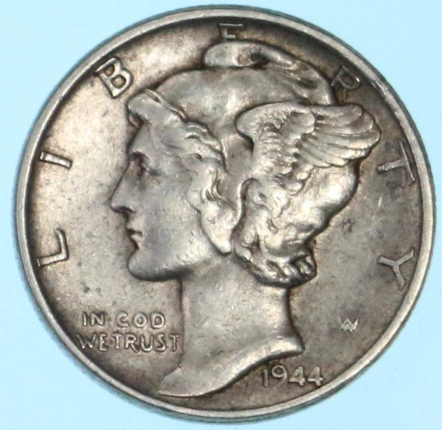 1944 mercury dime 90 silver us coin lot h754 ebay for Mercerie nimes