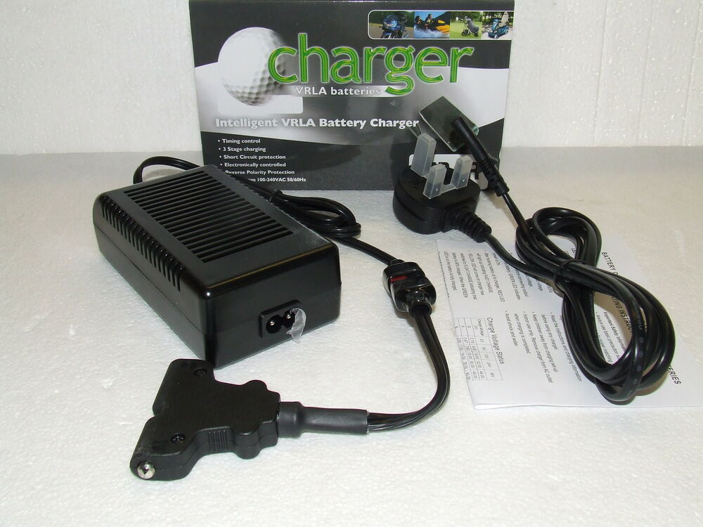 leoch 12v 4 amp 3 stage golf battery charger with. Black Bedroom Furniture Sets. Home Design Ideas