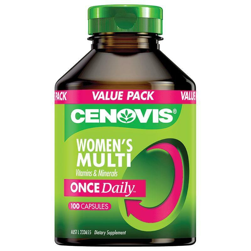 1 X Cenovis Womens Multivitamin 100 Capsules One A Day Ebay Blackmores Bio C Chewable 500mg 125 Tablet Made In Australia