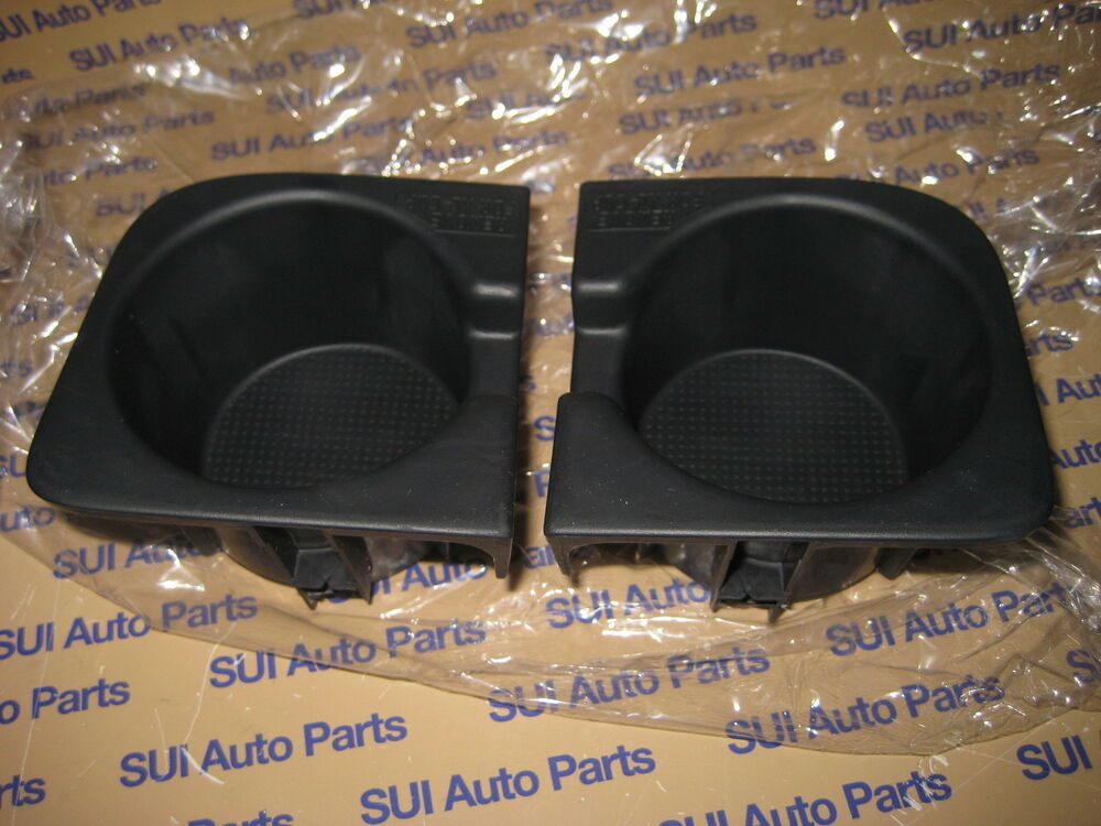toyota tacoma center console front cup holder rubber inserts 2 new oem 2009 2014 ebay. Black Bedroom Furniture Sets. Home Design Ideas