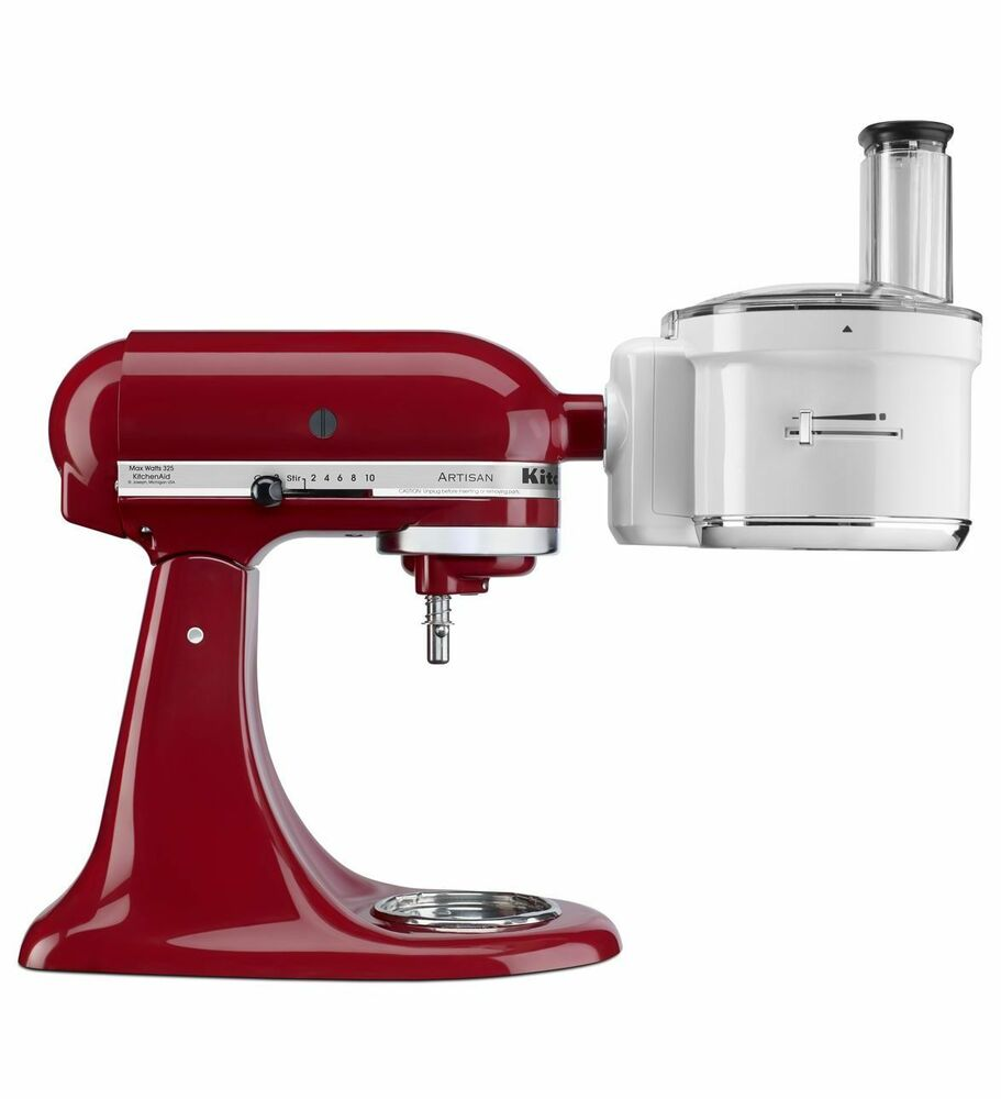 New Kitchenaid Exact Slice Food Processor Attachment Ksm1fpa All Stand Mixers Ebay