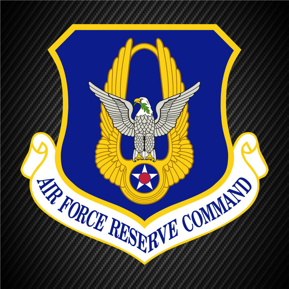 usaf air reserves command patch vinyl graphics decal