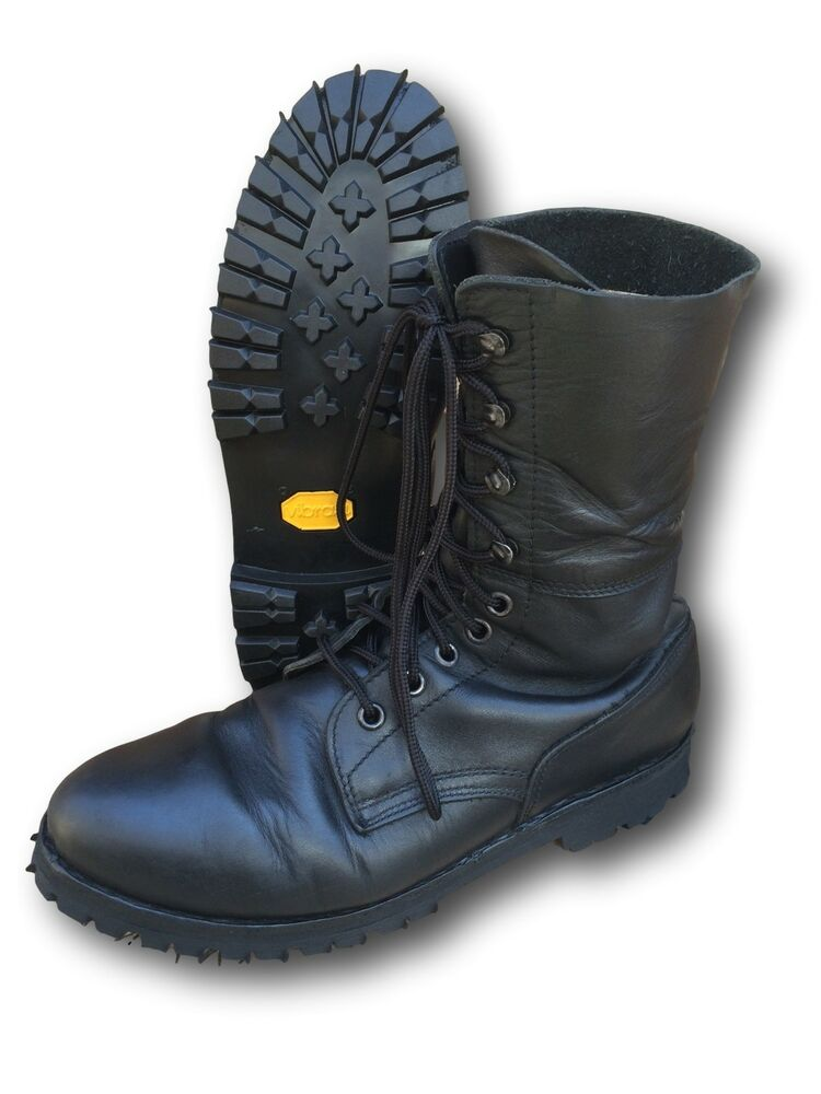 Austrian/German Unlined Paratrooper Boots, Reconditioned