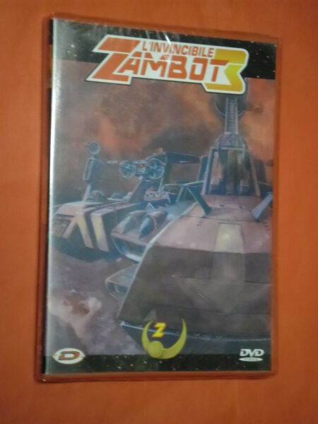 INVINCIBILE ZAMBOT 3 vol 2 - dvd DYNAMIC VIDEO  raro