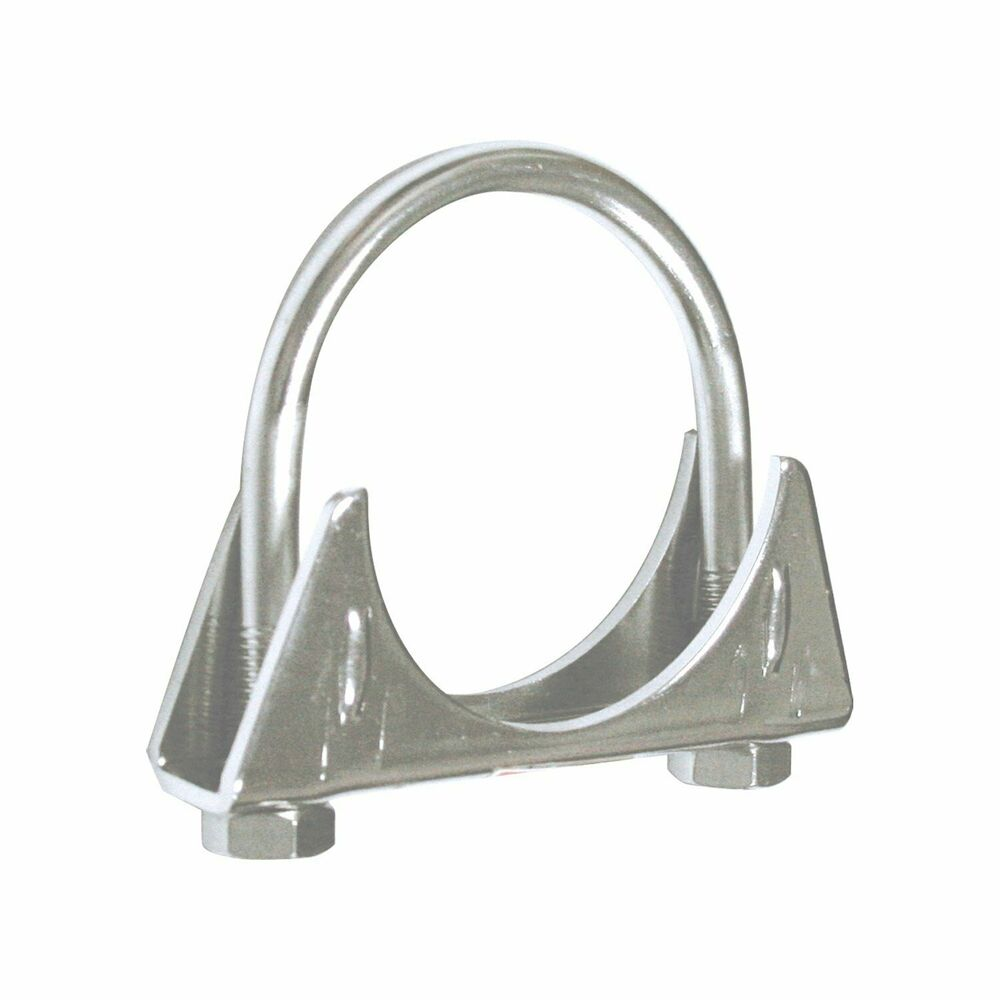 Pilot stainless steel exhaust clamp in cm