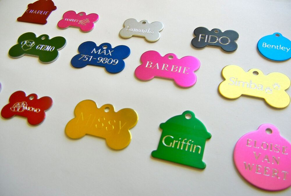 Custom Engraved Personalized Pet Tag Id Dog Cat Name Tags