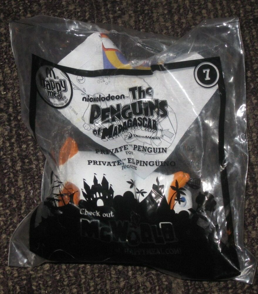 2010 Penguins Of Madagascar McDonalds Happy Meal Toy