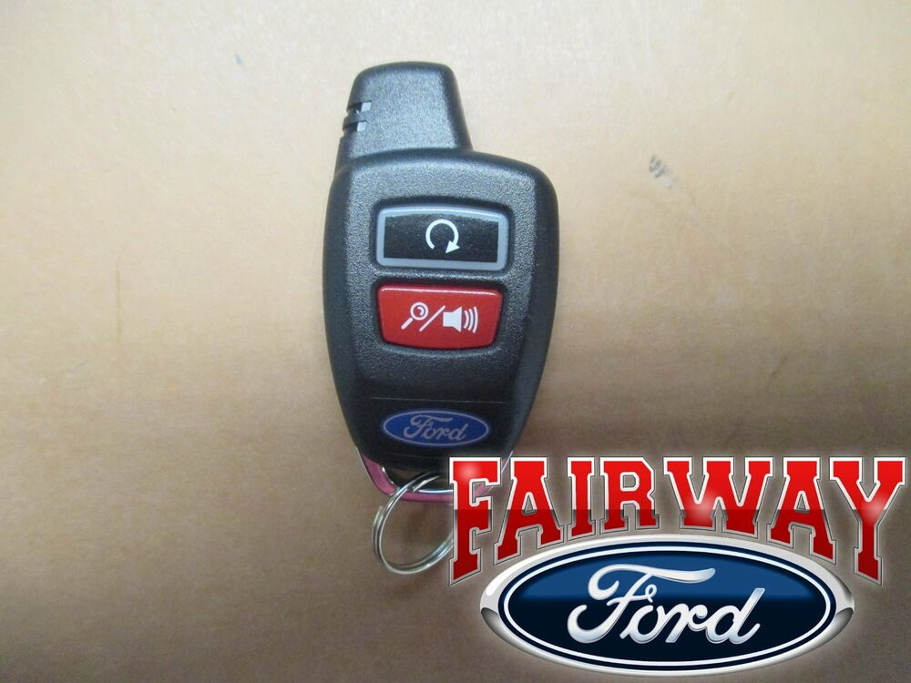 Genuine Ford Parts Remote Start System Bi Directional Key