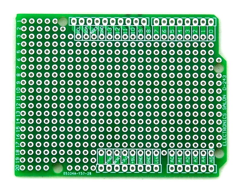 Prototype pcb for arduino uno r shield board diy ebay