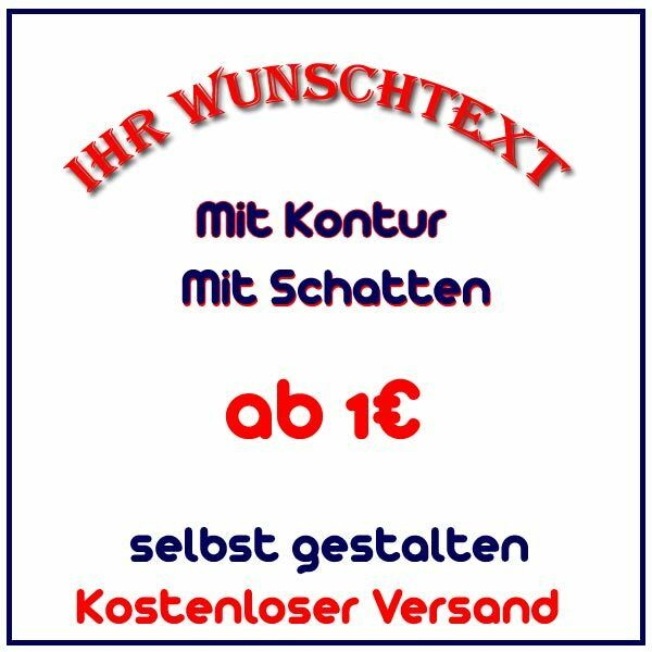 firmenname wunschtext aufkleber selbst gestalten auto aufkleber name buchstaben ebay. Black Bedroom Furniture Sets. Home Design Ideas