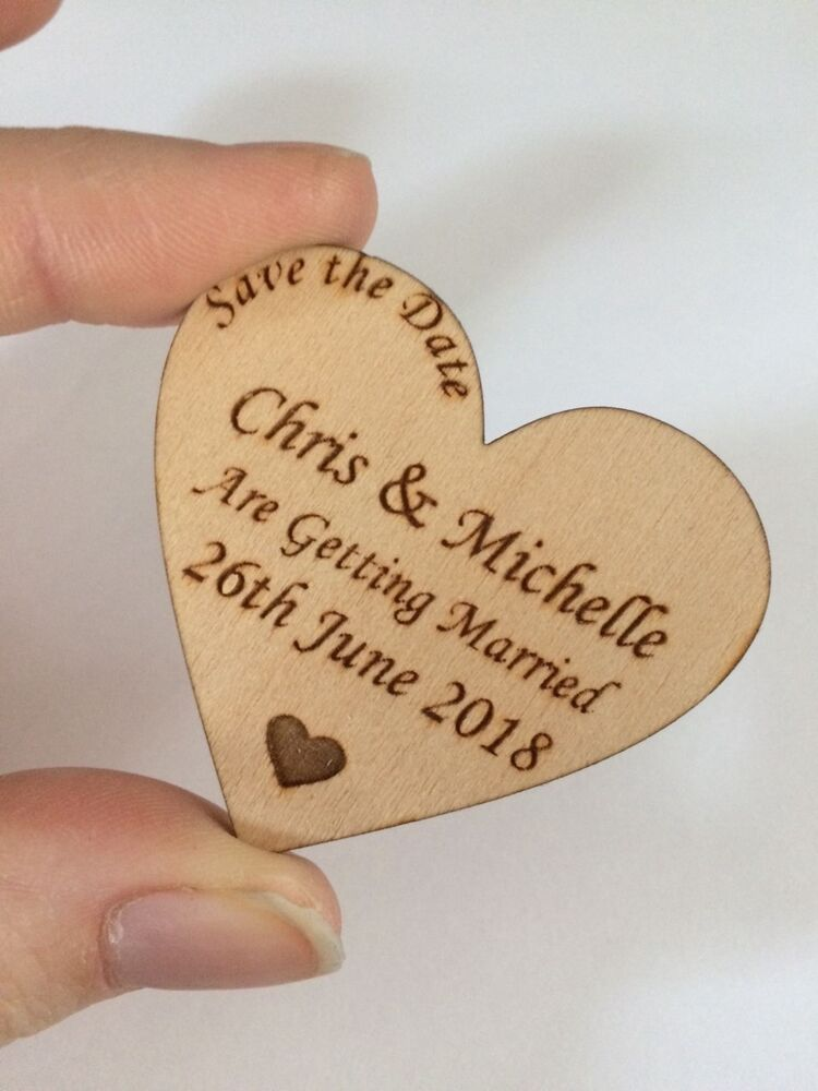 Wedding save the date magnets in Melbourne
