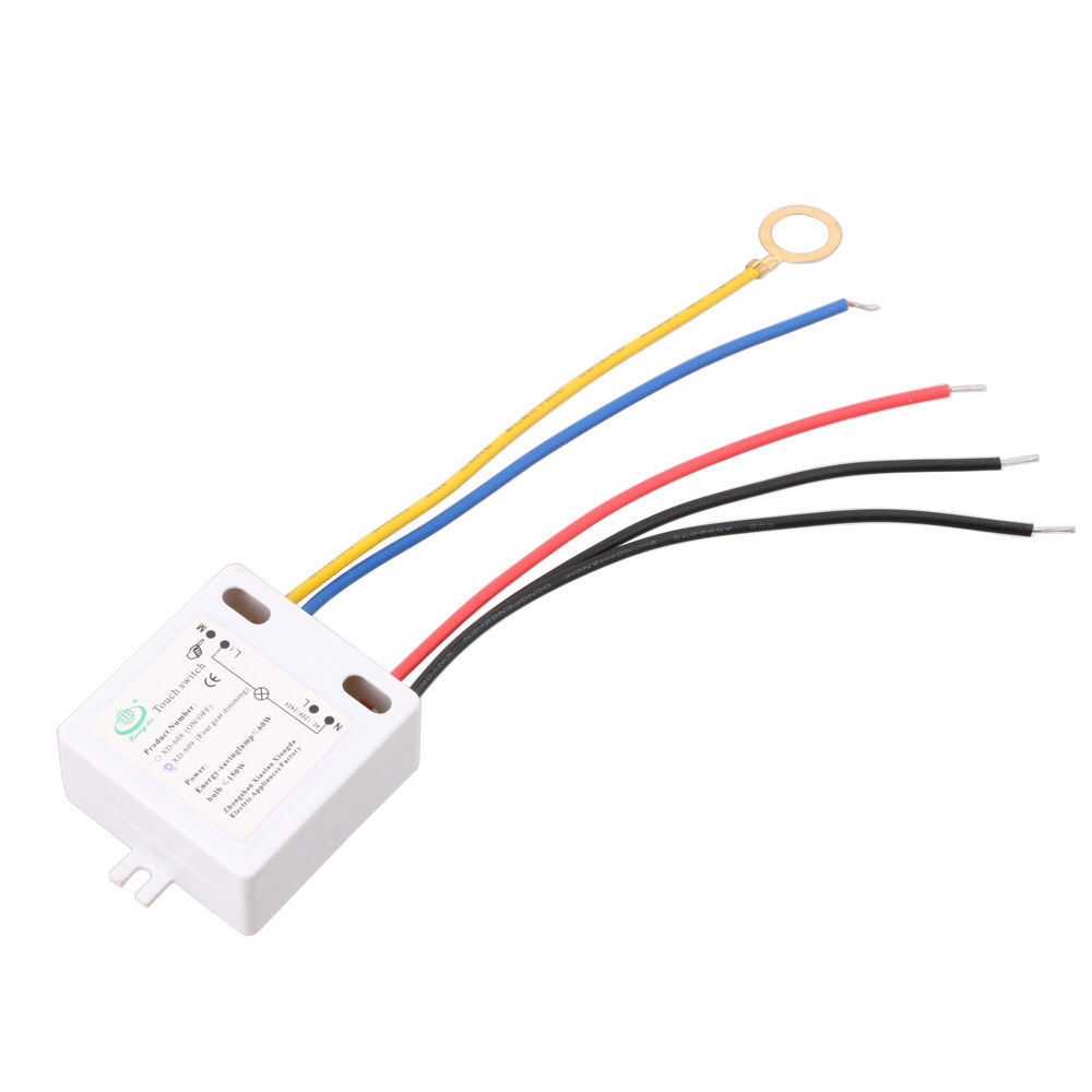 on off touch switch 120v to 240v with surge absorber for