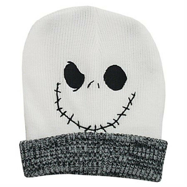 Jack Skellington Slouchy Beanie Nightmare Before Christmas Genuine ...