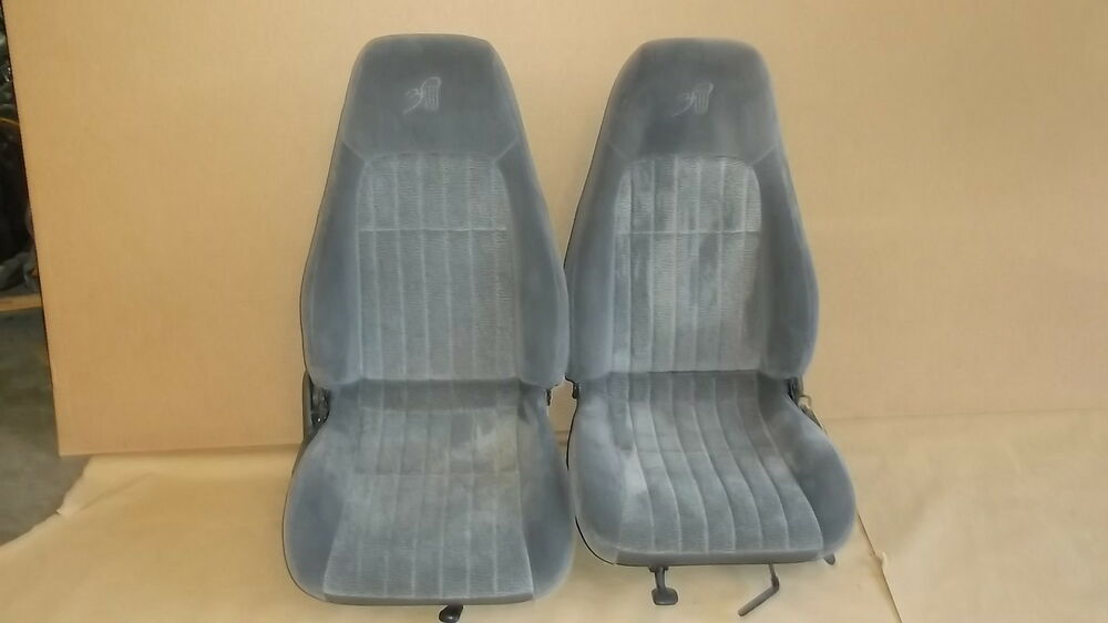 97 Camaro Rs Ss Z28 30th Anniversary Med Gray Cloth Seat