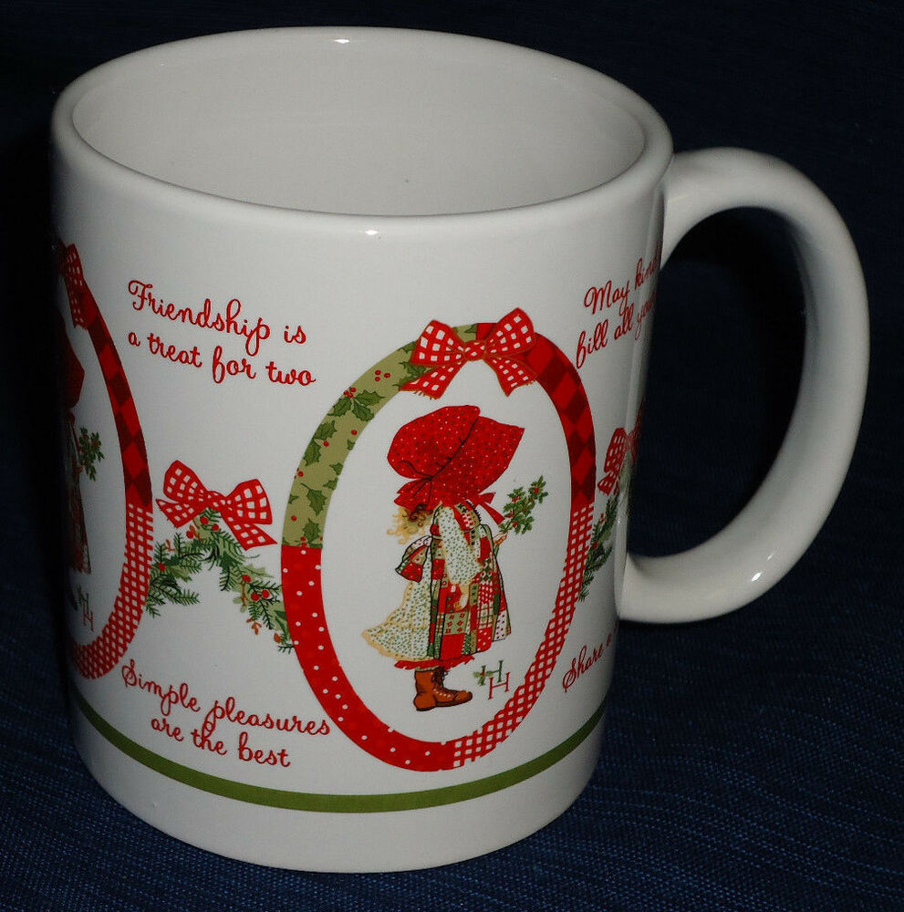 Holly Hobbie Christmas Mug Ebay
