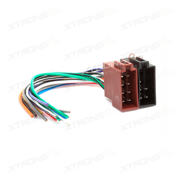 Wiring Harness Adaptor Halfords : Xtrons female iso radio wire wiring harness adapter