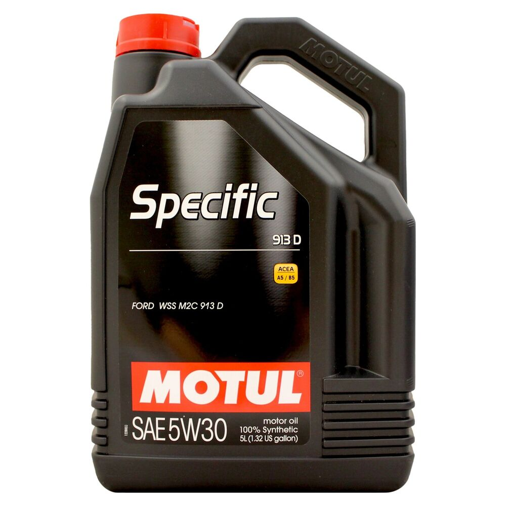 Motul specific 913d 5w 30 fully synthetic ford spec engine for 5 30 motor oil
