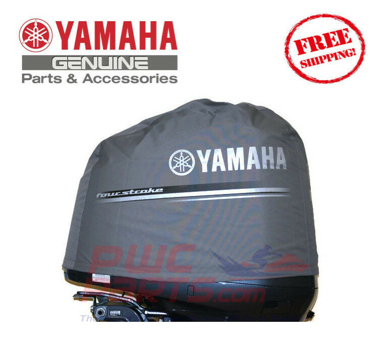 Yamaha deluxe outboard v6 3 3l f200 f225 motor cover mar for Yamaha boat motor covers