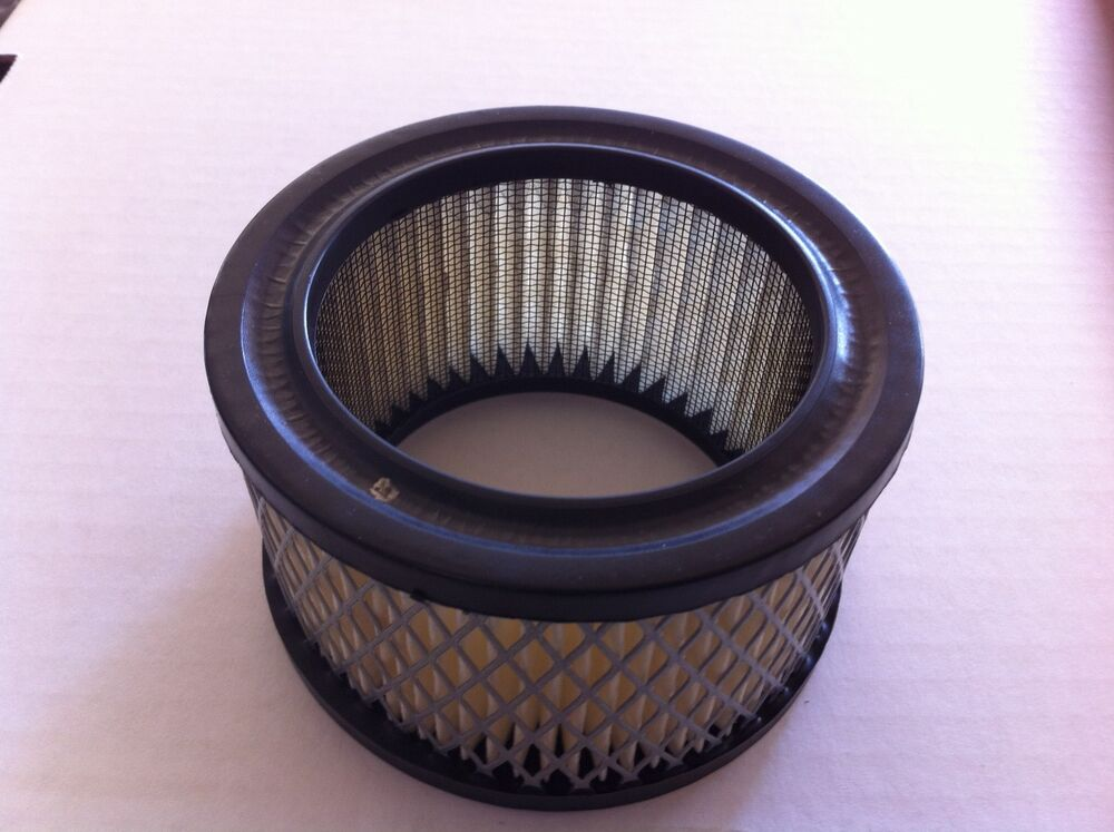 Four Bbl Carb Air Cleaners : Air filter element for chrome carburetor filters