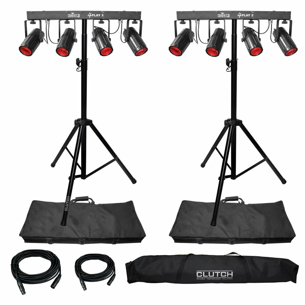 Chauvet Dj 4play Led Moonflower Party Stage Lighting