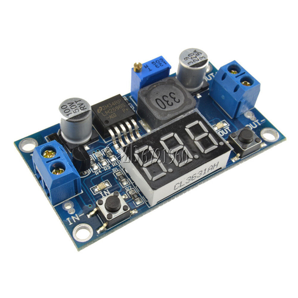 Buck Step Down Lm2596 Power Converter Module Dc 4 0 40 To