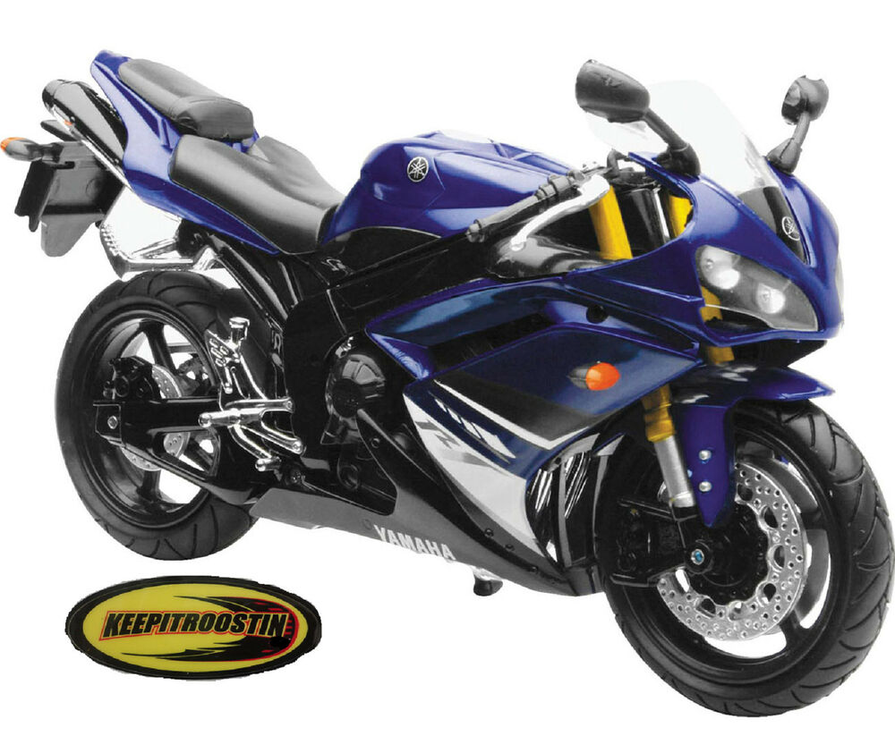 Yamaha r1 new ray toys street bike 1 12 scale motorcycle for Yamaha r1 deals
