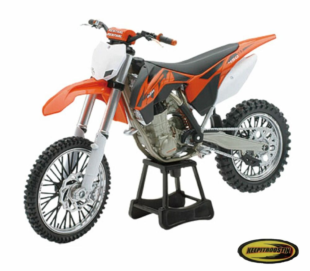 2014 ktm 450 sx new ray toys dirt bike 1 10 scale. Black Bedroom Furniture Sets. Home Design Ideas