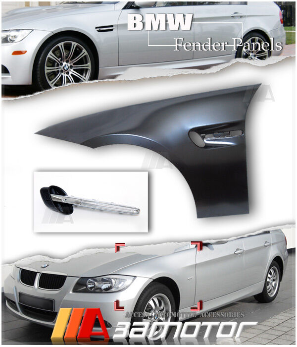 Bmw M3 Style Look Front Fender Side Panels E90 Sedan