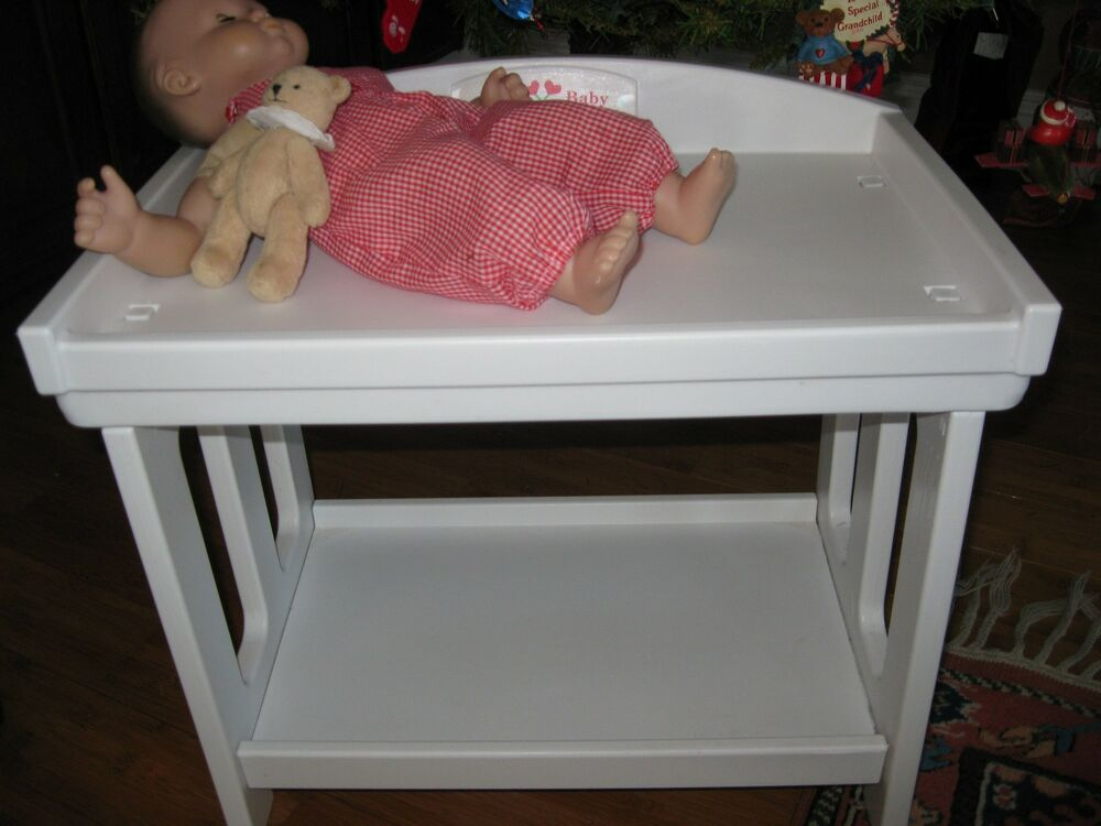 Bitty Baby American Girl Doll Pleasant Company Bear Changing Table Stroller  Lot | EBay